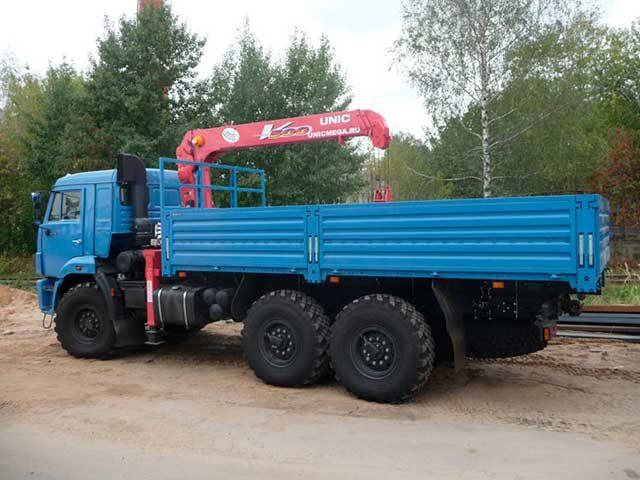 Манипулятор КАМАЗ КМУ 3 тонны (вездеход)