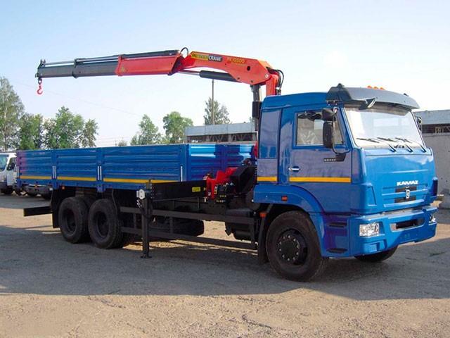 Манипулятор КАМАЗ КМУ 5 тонн