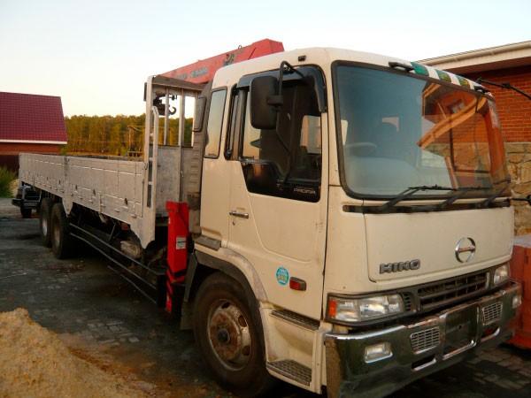 Манипулятора HINO 10 тонн кран 5 тонн