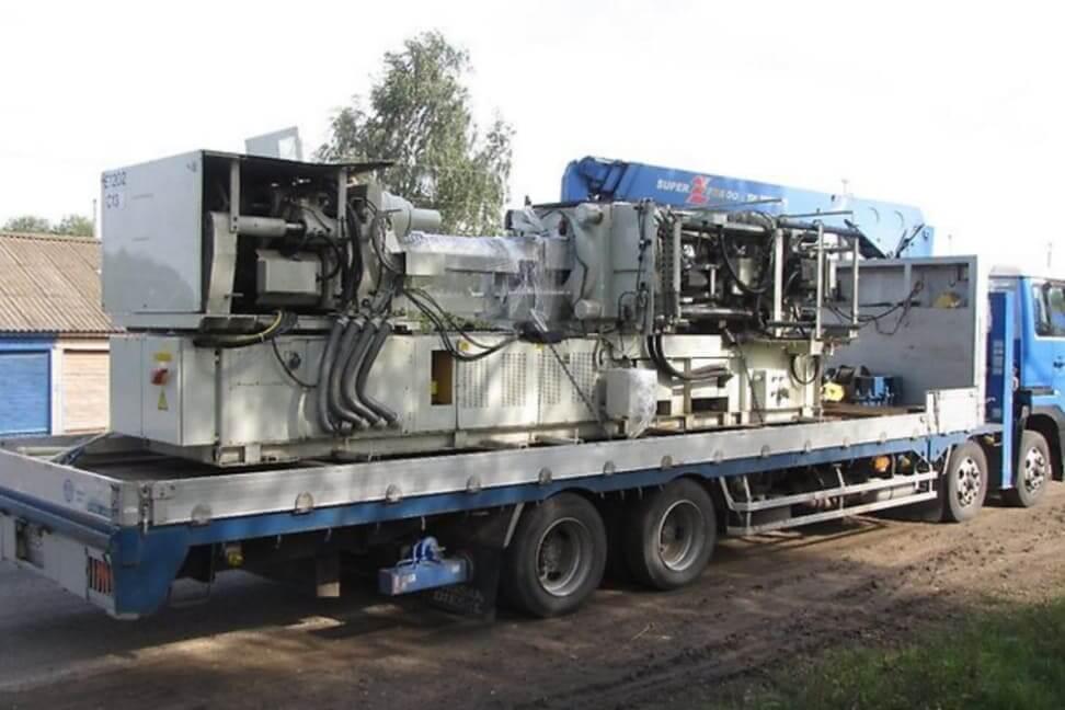 Перевозка промышленного оборудования манипулятором