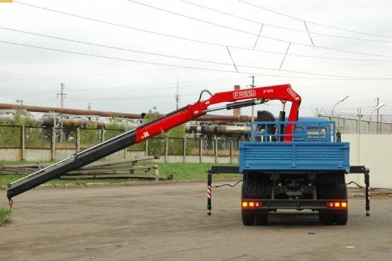 Аренда крана манипулятора КАМАЗ в Москве