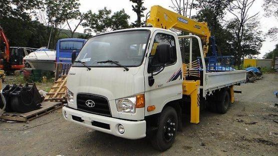 Манипулятор Hyundai E-Mighty (HD78) 5 тонн кран 3 тонны