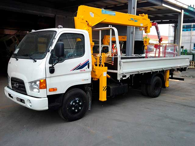 Манипулятор Hyundai HD78 КМУ 3 тонны