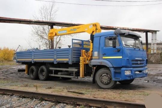 Манипулятор КАМАЗ 10 тонн