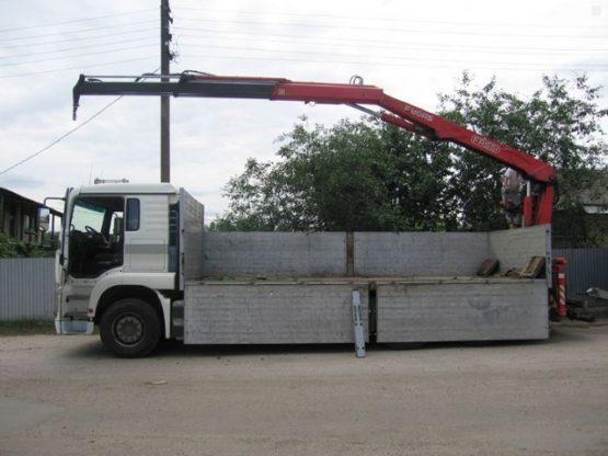 Манипулятор MAN 10 тонн