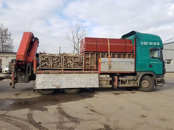 Аренда манипулятора Scania в Москве